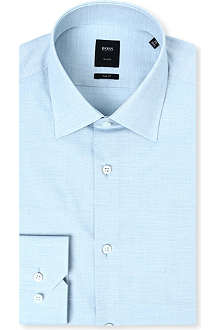 HUGO BOSS Silk-blend shirt
