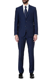 HUGO BOSS Single-breasted pinstripe suit