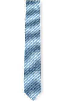 HUGO BOSS Mid stripe silk tie