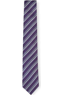 HUGO BOSS Varied stripe tie