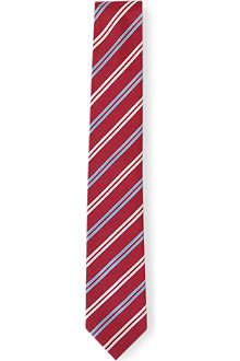 HUGO BOSS Ribbon-striped tie