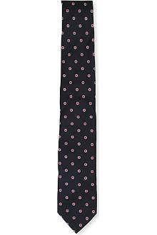HUGO BOSS Circle silk tie