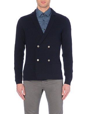 HUGO BOSS Tlabay knitted jacket