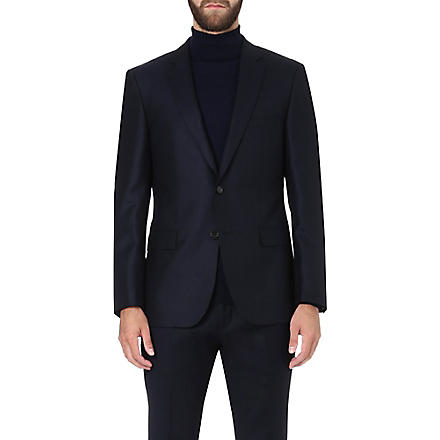 HUGO BOSS T-Lord basketweave jacket (Navy