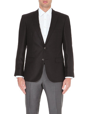 HUGO BOSS T-Lord mohair and silk jacket