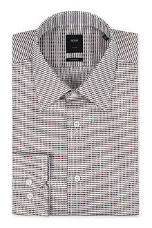 HUGO BOSS T-Simons regular-fit single-cuff shirt