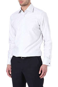 HUGO BOSS Warron regular-fit gingham shirt