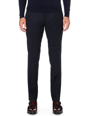 HUGO BOSS Wilhelm slim-fit wool trousers