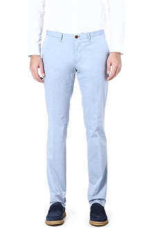 HUGO BOSS Winton extra-slim cotton trousers
