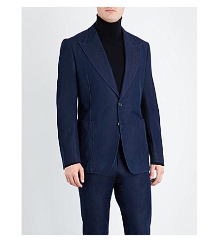 TOM FORD Single-breasted denim jacket (Denim