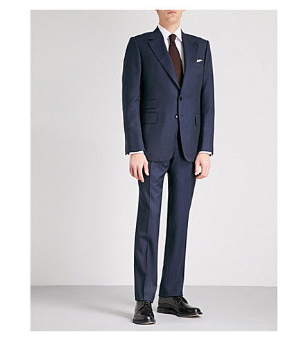 TOM FORD Shelton classic-fit wool suit (Navy