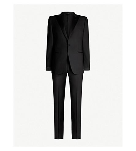 TOM FORD Satin-trim wool tuxedo (Blk