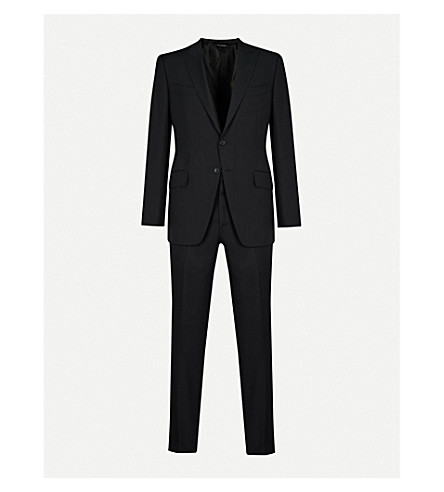 TOM FORD O'Connor wool suit (Black