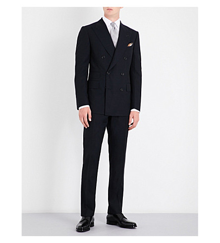 TOM FORD Shelton slim-fit wool suit (Midnight