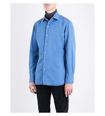 TOM FORD Slim-fit denim shirt (Denim