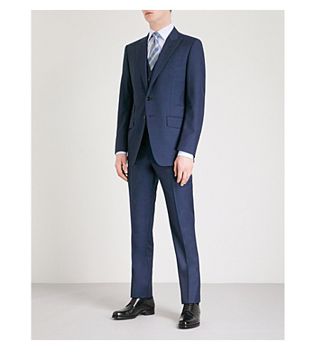 TOM FORD O'Connor-fit three-piece wool suit (Blue