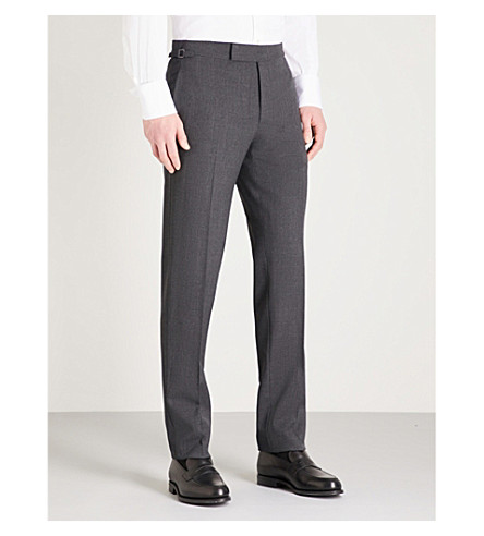 TOM FORD O'Connor-fit straight wool trousers (Grey