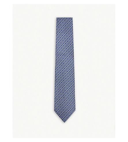 TOM FORD Eclipse spot silk tie (Blue