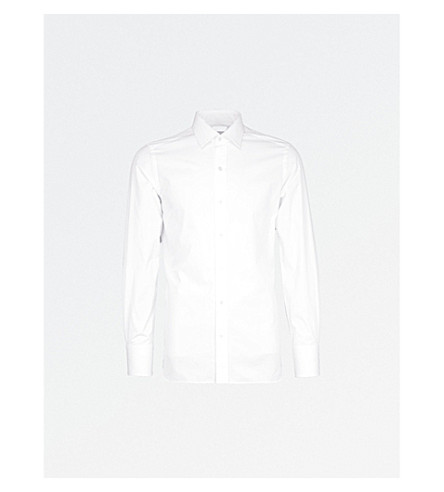 TOM FORD Classic-fit cotton shirt (White