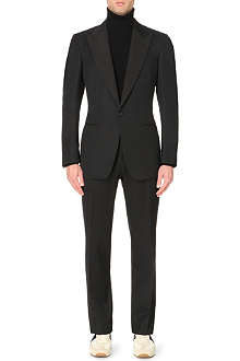 TOM FORD Windsor grosgrain-trimmed tuxedo
