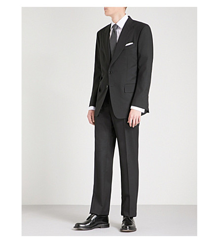 TOM FORD Windsor two-piece wool suit (Black