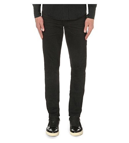 TOM FORD Slim-fit tapered jeans (Black