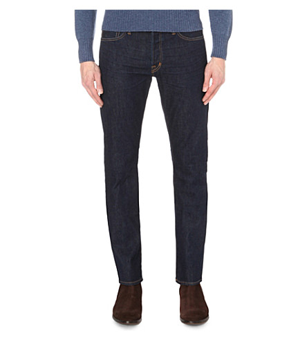 TOM FORD Regular-fit straight jeans (Indigo