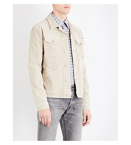 TOM FORD Stretch-cotton corduroy jacket (Dust