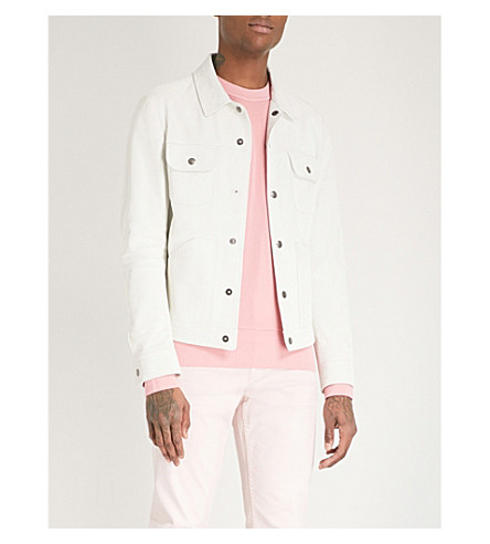 TOM FORD Western suede jacket (White