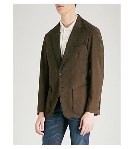TOM FORD Nubuck suede jacket (Brown