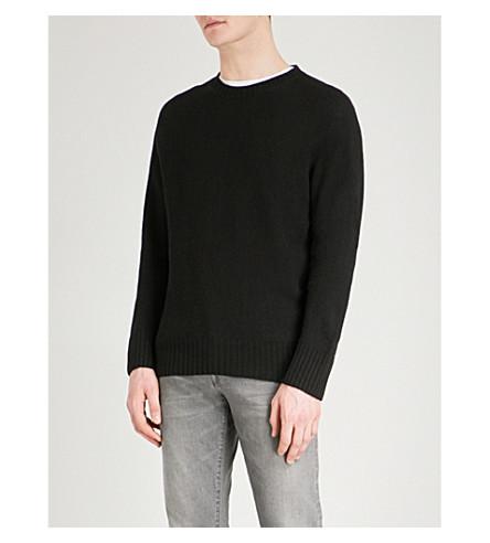 TOM FORD Crewneck knitted jumper (Black