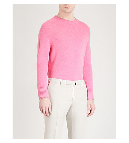 TOM FORD Crewneck knitted jumper (Pink