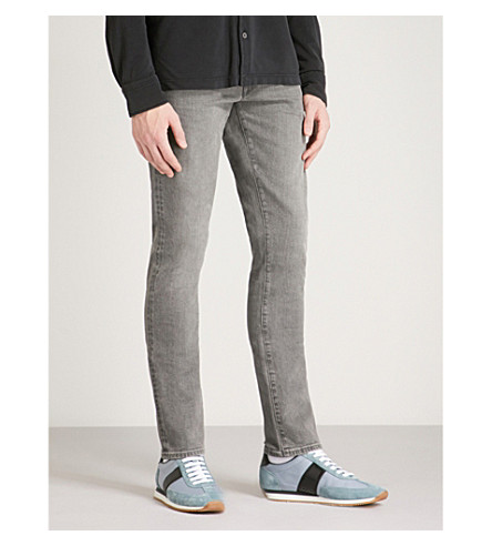 TOM FORD Faded slim-fit skinny jeans (Grey