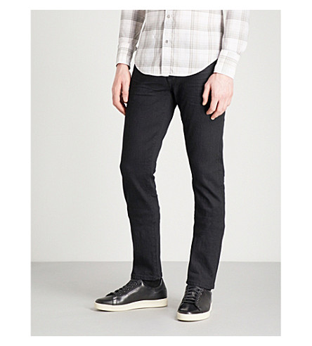 TOM FORD Slim-fit skinny jeans (Black