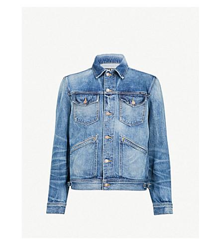 TOM FORD Washed denim jacket (Blue