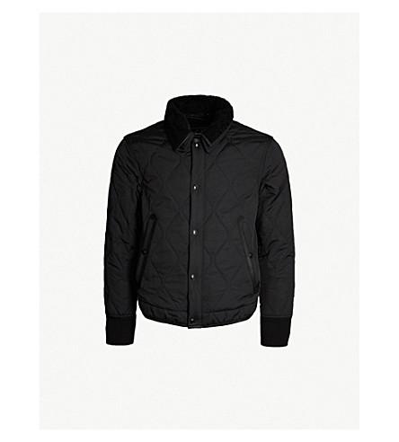 TOM FORD Quilted bomber jacket (Black