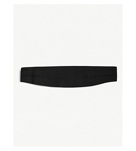 TOM FORD Grosgrain silk cummerbund (Black