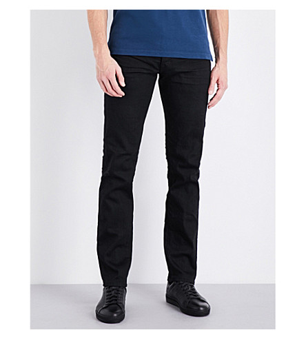 TOM FORD Regular-fit straight jeans (Black