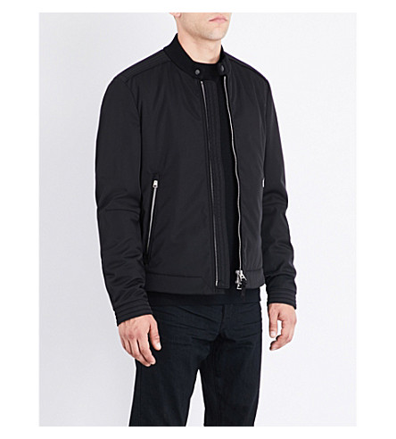 TOM FORD Quilted shell jacket (Black