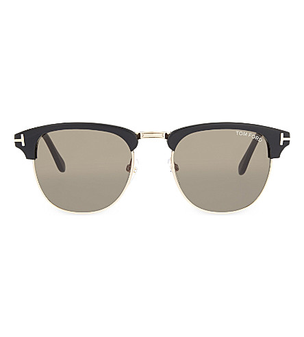 TOM FORD TF248 Henry bar sunglasses (Black