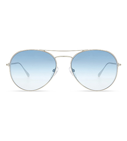 TOM FORD TF551 aviator sunglasses (Silvr