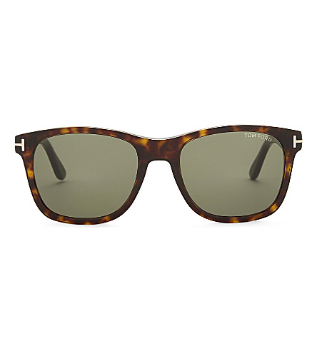 TOM FORD Tf595 Eric sunglasses (Dark+havana+/+green
