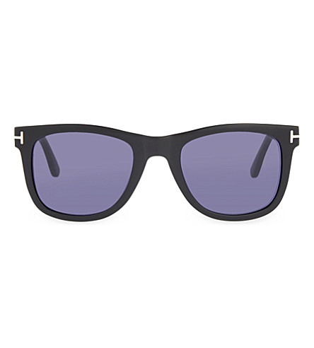 TOM FORD TF336 Leo square-frame sunglasses (Black