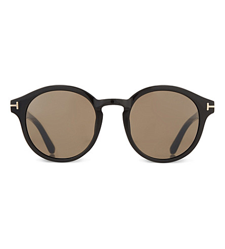 TOM FORD TF400 Lucho round-framed sunglasses (Black
