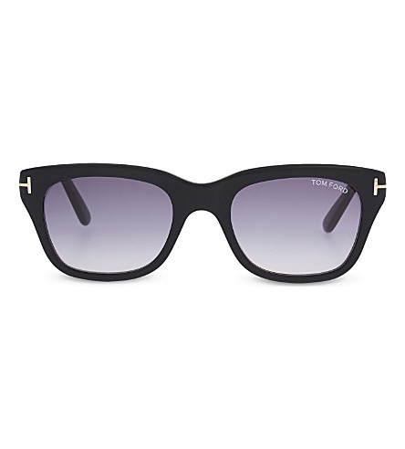 TOM FORD TF237 Snowdon square sunglasses (Black