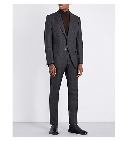 TOM FORD O'Connor slim-fit wool suit (Black