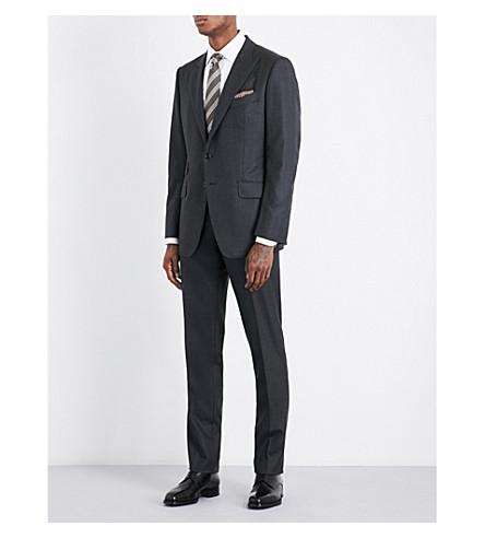 TOM FORD O'Connor herringbone slim-fit wool suit (Black