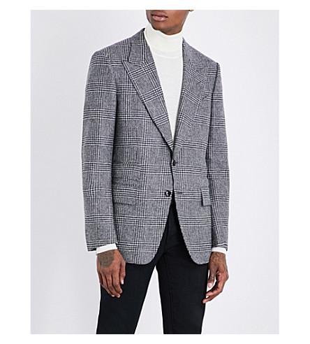 TOM FORD Shelton regular-fit wool jacket (Black