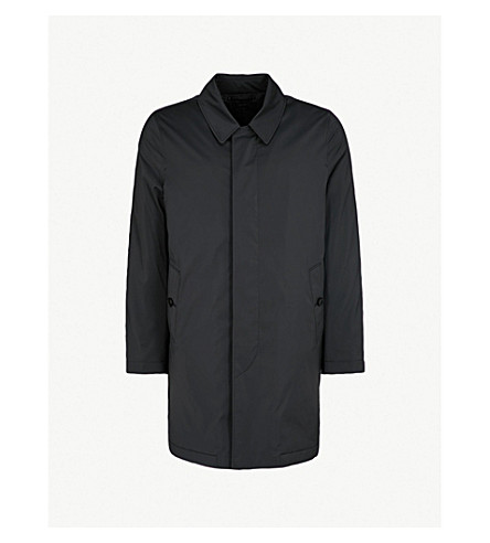 TOM FORD Quilted shell rain coat (Black