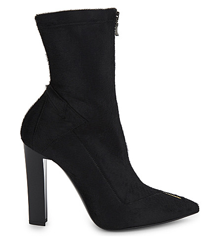 ROLAND MOURET Roxy ii haircalf boots (Black